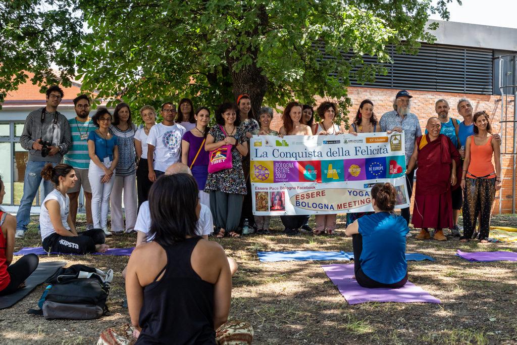 Tempo e Diaframma a Essere Yoga Bologna Meeting